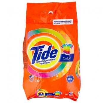 Tide Стиральный порошок Color Инновационные гранулы 3кг